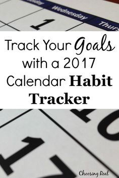 Using a 2017 calendar habit tracker can help you meet your daily goals. Simply print out this calendar & mark off each day you meet your goal. Make A Calendar, Daily Goals, Time Management Tips, Achieve Your Goals, Setting Goals, Kids Education, How To Start A Blog, How To Plan, Motivation