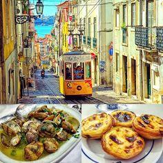 You have 24 Hours in #Lisbon - What do you see?Where do you eat?Favorite restaurants?Must-see attractions? Delicious dishes?Great cocktails?Let me know! #WanderlustWednesday -- #BestDishes #MustSee #LisbonLayover #BackToEurope #Tram #Clams #PasteisDeNata #EggTart #Portuguese #Travel #Wanderlust #Traveler #SoloTravel #Traveller #Instatravel #Travelgram #Adventure #TravelBug #SoloAdventures #Portugal #Europe #WomenWhoTravel #WorldTraveler #TravelBlog #TravelPhotos #Blogger #DesiredTastes -- (…
