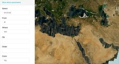 "VANE images from any Earth observation satellites. Parameter of query ""from"""