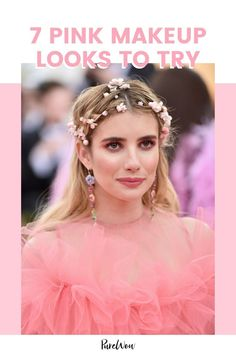 Looking to refresh your makeup this summer? Try adding a pop of pink to your face. Here are 7 ways to wear the trendy shade now. #beauty #pinkmakeup #makeup Natural Everyday Makeup, Natural Makeup Looks, French Makeup, Pink Smokey Eye, Pink Makeup, Pink Eyes, Skin Brightening, Makeup Tutorials, Beauty Routines