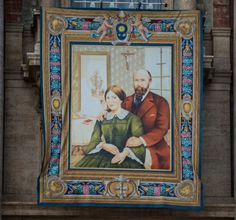 Saints Louis and Zelie Martin -- Canonization at St. Peter's Basilica