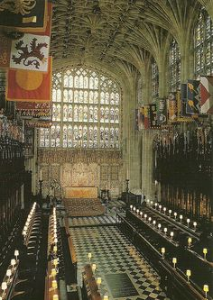St Georges Chapel Windsor, UK by mrsris, via Flickr