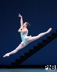PNB principal dancer Carrie Imler in George Balanchine's Apollo.