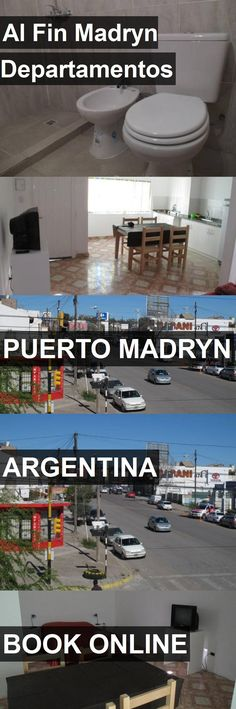 Hotel Al Fin Madryn Departamentos in Puerto Madryn, Argentina. For more information, photos, reviews and best prices please follow the link. #Argentina #PuertoMadryn #travel #vacation #hotel