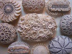 Best of Crochet Rocks, Stones & Pebbles - collection of photos of crochet stones