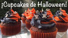 Cupcakes embrujados de Halloween 🧡🖤🧡🖤 Cupcakes, Desserts, Food, Tailgate Desserts, Cupcake, Deserts, Essen, Dessert, Muffin