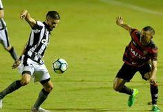 Blog Esportivo do Suíço:  Botafogo abre boa vantagem, mas cede empate para o Vitória no Barradão