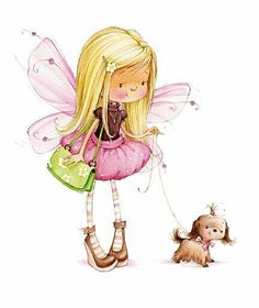 Sugar Nellie- Fifi Goes Walkies