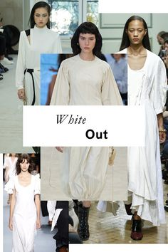 The 11 top trends of Spring 2017: White Out
