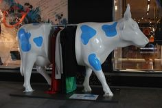 Art cow in Istanbul
