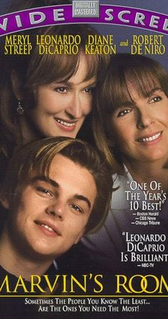 Directed by Jerry Zaks.  With Meryl Streep, Leonardo DiCaprio, Diane Keaton, Robert De Niro. A leukemia patient attempts to end a 20-year feud with her sister to get her bone marrow.