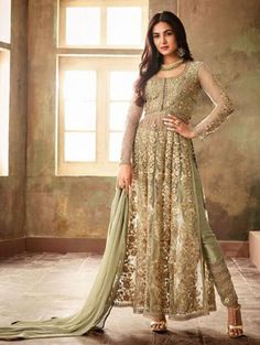 Online Indian Wedding Dresses-Buy Wedding Dresses for marriage with coveted for anarkali suits,Designerlehenga,Sarees,Salwar,Kameez at aliza fashion Designer Suits Online, Designer Gowns, Ethnic Suit, Indian Ethnic Wear, Suit Fashion, Fashion Pants, Biba Fashion, Salwar Kameez Online, Gowns Online