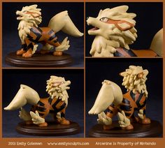 Commission+:+Arcanine+Calls+by+emilySculpts.deviantart.com+on+@deviantART