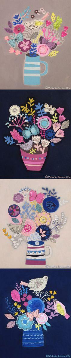 vases tall pin
