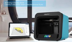 The Printer or rapid prototyping system is a computer assisted manufacturing process where software guides the creation of three dimensional models. Cheap 3d Printer, Best 3d Printer, 3d Printer Software, Modeling Techniques, Model Maker, Metal Models, Good And Cheap, Working Area, Model Trains