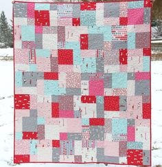 PDF Quilt pattern Easy Bake  with a Layer Cake by cluckclucksew, $8.00