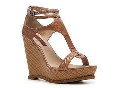 7 for All Mankind Rayn Wedge Sandal New Arrivals Women's Shoes - DSW