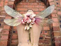 Beautiful wearable Rainbow Faerie Wings by UndertheIvy2 on Etsy