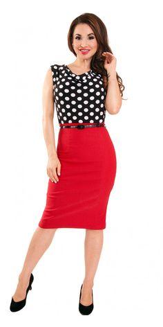 Steady Clothing Ramona Wiggle Dress Blame Betty