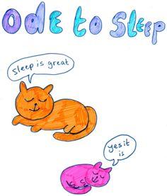 ode to sleep.