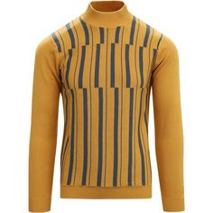 New men's vintage style shirts and retro shirts such as dress shirts, sport shirts, western shirts, Hawaiian shirts, polos and T shirts. 60s Men's Fashion, Modern Mens Fashion, Mens Knit Sweater, Sweater Shirt, Mens Retro Shirts, Cycling Tops, Western Shirts, Striped Knit, Kleding