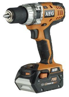 A.E.G. Power Tools BSB18CL3P 18V Compact Combi Drill with 2 x 3.0Ah Li-Ion - http://homeimprovementx.co.uk/tools/cordless-drill/a-e-g-power-tools-bsb18cl3p-18v-compact-combi-drill-with-2-x-3-0ah-li-ion/