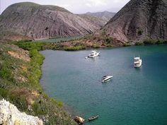 Isla Chimana Grande Las Islas Chimanas son un Archipiélago formado por 7 islas situadas en el Parque Nacional Mochima Venezuela Foto mapcarta.com