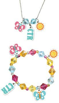 """LDS Childrens Soft PVC Sunshine CTR Choose the Right 16"""" Ball Chain Necklace & Stretchable Elastic Bracelet Set - Necklace Can Be Trimmed to Any Length - Girls Bracelet, LDS Bracelet, Girls Necklace, LDS Necklace. LDS Baptism Gift - http://www.everythingmormon.com/lds-childrens-soft-pvc-sunshine-ctr-choose-the-right-16-ball-chain-necklace-stretchable-elastic-bracelet-set-necklace-can-be-trimmed-to-any-length-girls-bracelet-lds-bracelet-girls-neckl/  #mormonproducts #LDS"""