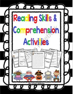 Reading Skills and Comprehension Activities product from Read-Like-A-Rock-Star on TeachersNotebook.com