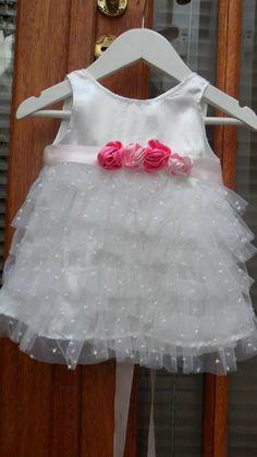 Vestido De Bautismo, Fiesta O Cortejo De Beba O Nena - $ 750,00 en MercadoLibre