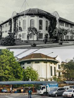 Sep 2014 - NORMAL SCHOOL, MANILA The Philippine Normal School (PNS) was created on January 1901 by the Americans through Act No. 74 of the Philippine Commission. It formally opened on September as an institution for the training of teachers. Philippine Architecture, Then And Now Photos, Intramuros, Normal School, Architecture Concept Drawings, Colorized Photos, Current Location, Present Day, Manila