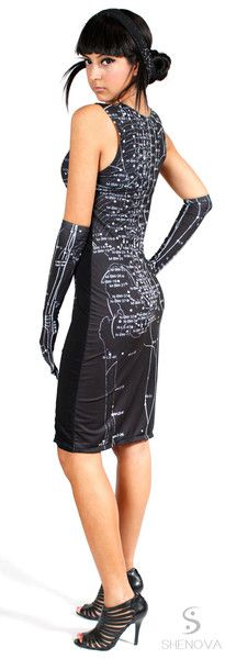 The Acupuncture Point Dress...side view!