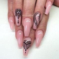 Coffin nails @ korten stein ☻ nails unghie gel, unghie e unghie stiletto. Pink Stiletto Nails, Matte Nails, Pink Nails, Coffin Nails, Acrylic Nails, Pink Coffin, Polish Nails, Acrylics, Fabulous Nails