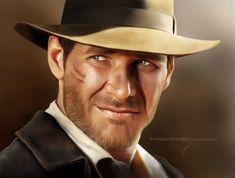 Indiana Jones by ThreshTheSky on DeviantArt