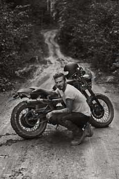 Bike or BikerMan #Beckham #OffTheBeatenPath