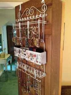 Customer Image Gallery For Overdoor/Wall Jewelry Organizer In White By  Longstem   Unique Patented Product   Rated Best