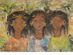 View Three Nubian Girls by Tahia Halim on artnet. Browse upcoming and past auction lots by Tahia Halim. Egyptian Art, Art Auction, Indian Art, View Image, Third, Past, Harry Potter, Abstract, Drawings