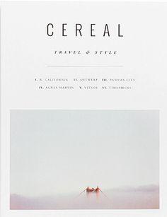 Cereal Magazine, Autumn 2015, #10 on Magpile