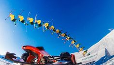 GoPro Channel | Insane GoPro sequence: Ferrari and snow for the first time in the world at Mottolino Livigno