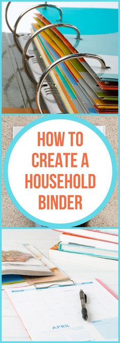 How to Create a Home Management Binder - The Organized Mom - Kerri Moran - Limpieza Deep Cleaning Tips, House Cleaning Tips, Spring Cleaning, Cleaning Hacks, Office Cleaning, Home Design, Interior Design, Household Binder, Household Notebook