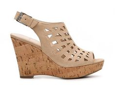 Franco Sarto Sassy Wedge Sandal Women's Casual Sandals Sandals Women's Shoes - DSW