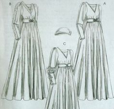 Medieval Gown Pattern