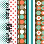 Dots and Stripes Patterns by ~colourgallery on deviantART