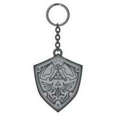 Hylian Shield Legend of Zelda Metal Key Chain