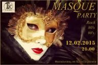 Masque Party 12.02.2015 21.00 Be there!!!