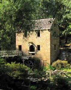 Old mill house in Little Rock