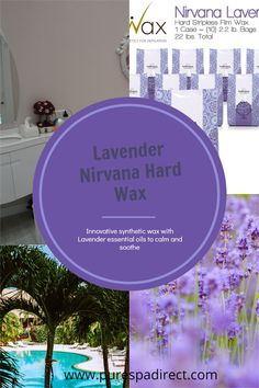 Innovative synthetic wax formula features lavender essential oils to calm your Brazilian wax clients while picking up even the shortest of hairs Waxing // Brazilian Waxing // Bikini Waxing // Arm wax // Leg wax // Hair removal // Spa Waxing Service Waxing Bikini, Bikini Wax, Wax Spa, Waxing Legs, Brazilian Wax, Waxing Services, Wax Strips, Wax Hair Removal, Hair Wax