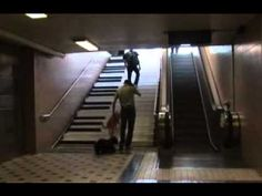 Piano Stairs - Odenplan, Stockholm, Sweden - YouTube