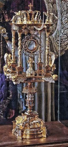 Monstrance from St John Cantius Roman Catholic Church Chicago