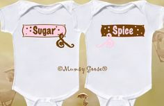 Twins on Pinterest | Twin Girls, Onesies and Twin